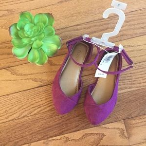 Old Navy Ballet Pointed Flats - Size 8 Toddler